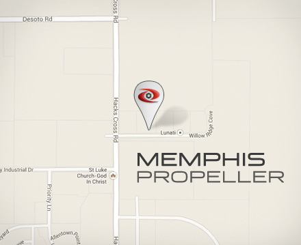 Memphis Propeller Map